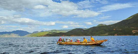 泸沽湖的风景惊艳亮瞎了我的眼球