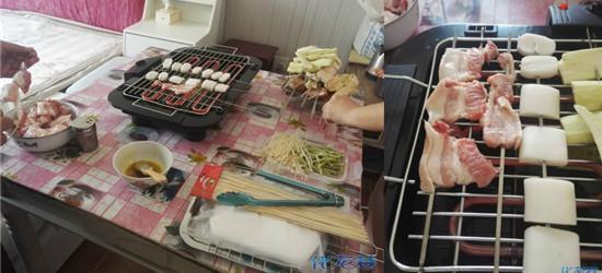 多图:梦寐以求的烤架终于到了,迫不及待吃了顿烧烤大餐!