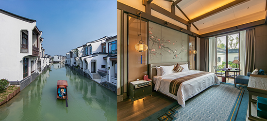 江苏最贵的酒店在无锡,去房间可以坐船去