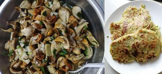 早上做了两个美食,嫩南瓜弄丝和螃琪脚,大家看了有没有食欲呢?