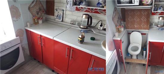在北京朋友租了个带独卫的房子,一个月才一千块…我傻眼了