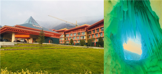 来到山西的第三天,住离万年冰洞很近的酒店,去了碛口古镇
