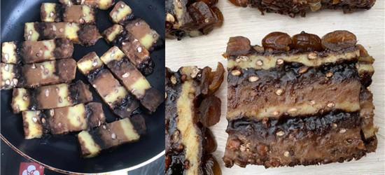 天越来越冷了,红糖年糕继续做起来,家里人都喜欢吃