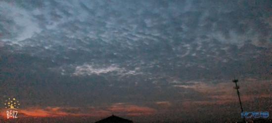 实拍大常州的绚丽清晨!正好抓拍,技术不咋滴,确实挺美哈