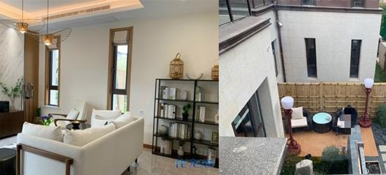 在宜兴竹海附近买了套双拼小别墅!套内面积115,240万含装修