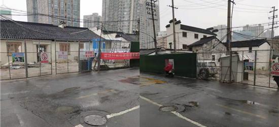 青果巷路面凹陷,恳请路政部门修理一下,避免发生安全事故