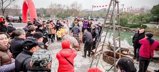 去仙姑村看见杀猪杀羊,还是第一次见,觉得蛮稀奇的