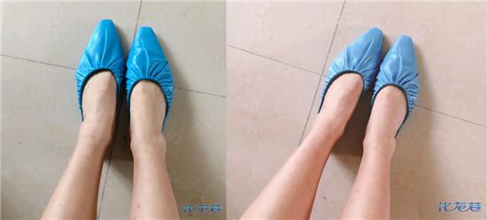 太喜欢zara这双鞋了!以后我就是赤脚穿鞋套出门的人了