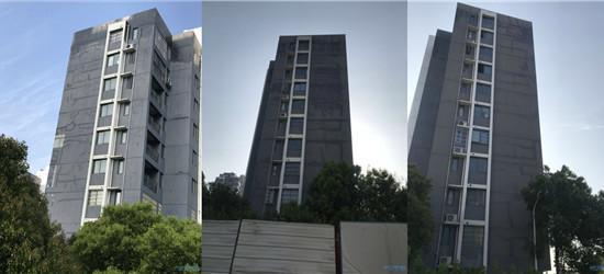 """西太湖 """"湖滨怡景""""绷带楼,开发商一直不给修"""