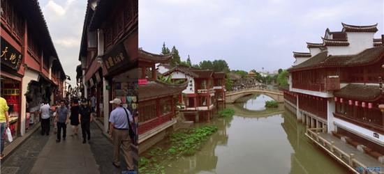 七宝古镇半小时游,拍了好多照片,景色美吗