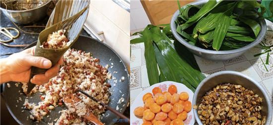 常州人包粽子怎么能少了咸蛋黄肉粽呢!马上要端午了