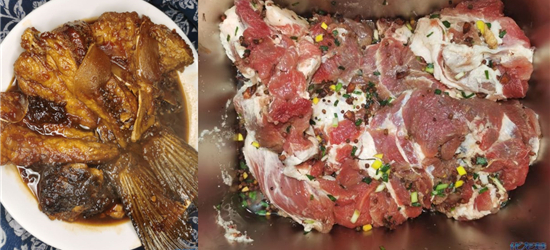 唯有美食不可辜负,把卤菜都真空包装起来放冰箱里