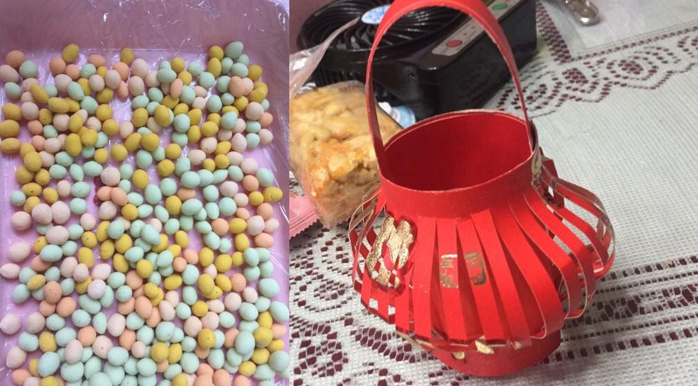 元宵节!奶奶为孙女做了彩色的元宵,爷爷还做了个灯笼