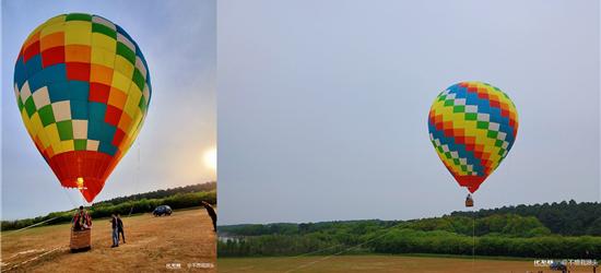 常州也有热气球可以坐啦!瓦屋山航空飞行营地