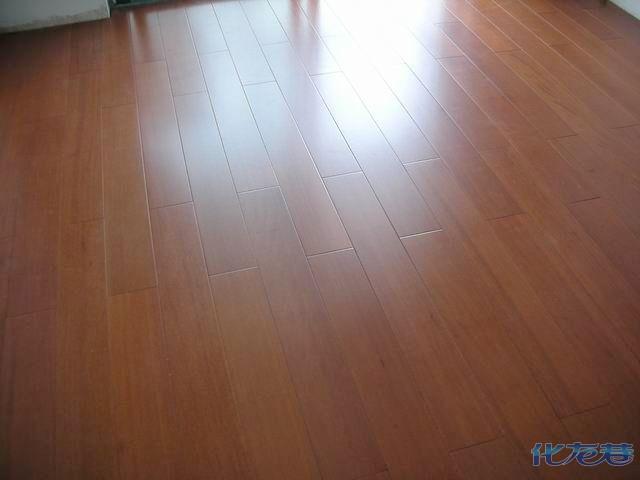 实木地板的安装 建材软装-化龙巷