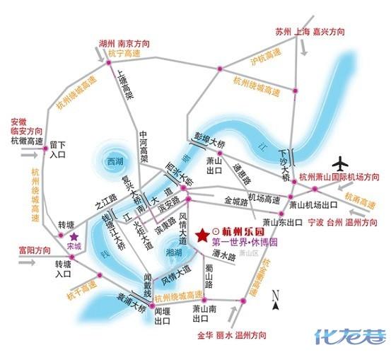 埃菲尔铁塔在世界地图位置