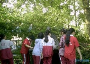 市北初中初中校本感受椿桂园,走进椿桂园的常小麦的课程影响生活图片
