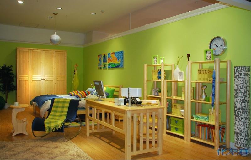 儿童房装修细节注意问题,用材环保,设计安全是首要考虑的因素.