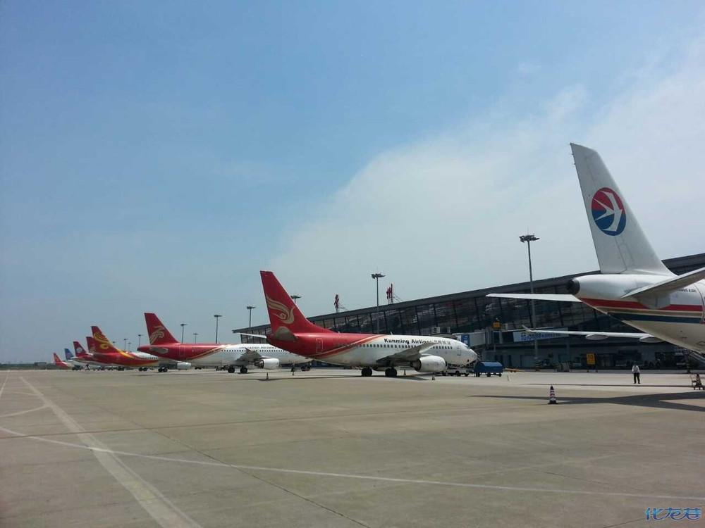 常州机场的飞机越来越多