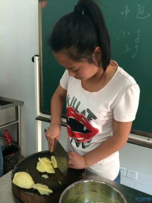 秀的不是而是,厨艺职高凝聚力!常州聋校团队一伍德高朗诺斯科布中图片
