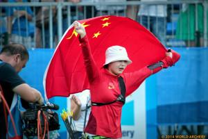 25日南京的小伙伴组团去常州青奥比赛射箭现北美中学生冰球图片