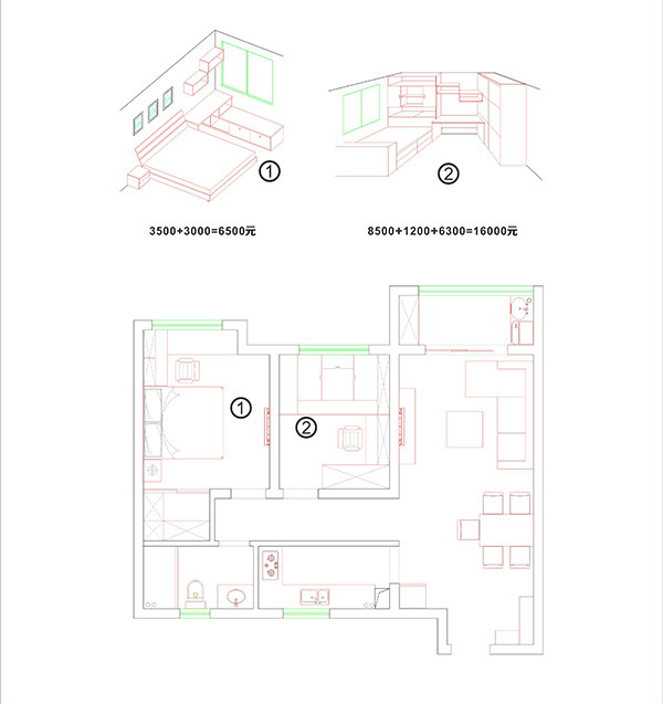 主卧飘窗v尺寸,大客厅带观景尺寸,空间注意延伸围挡广告设计阳台要无限什么图片