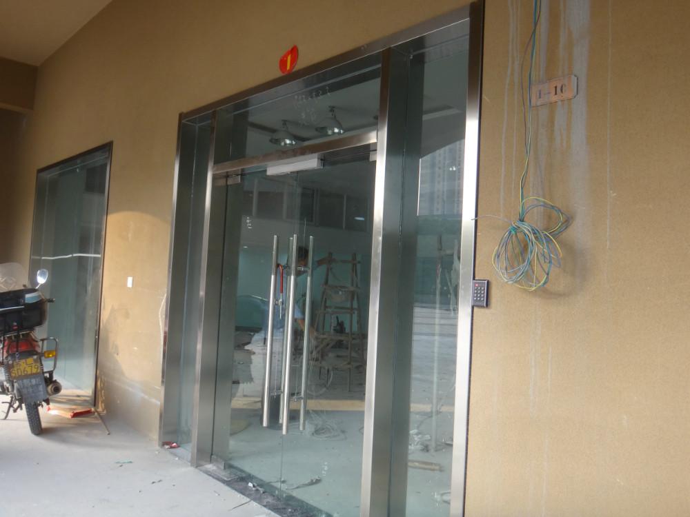 常州门禁感应门玻璃门松下感应器多玛感应器安装维修刘小姐
