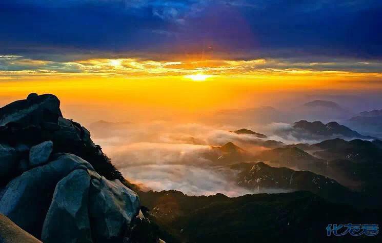 安庆潜山县天柱山风景区