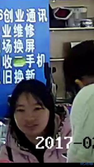 抓麻烦,她偷了本手机一台店铺手机,操作者苹果安卓电脑小偷见到图片
