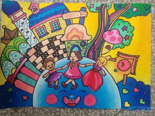 儿童画 658_494图片