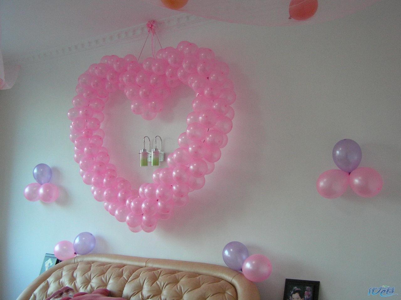新房气球布置图片