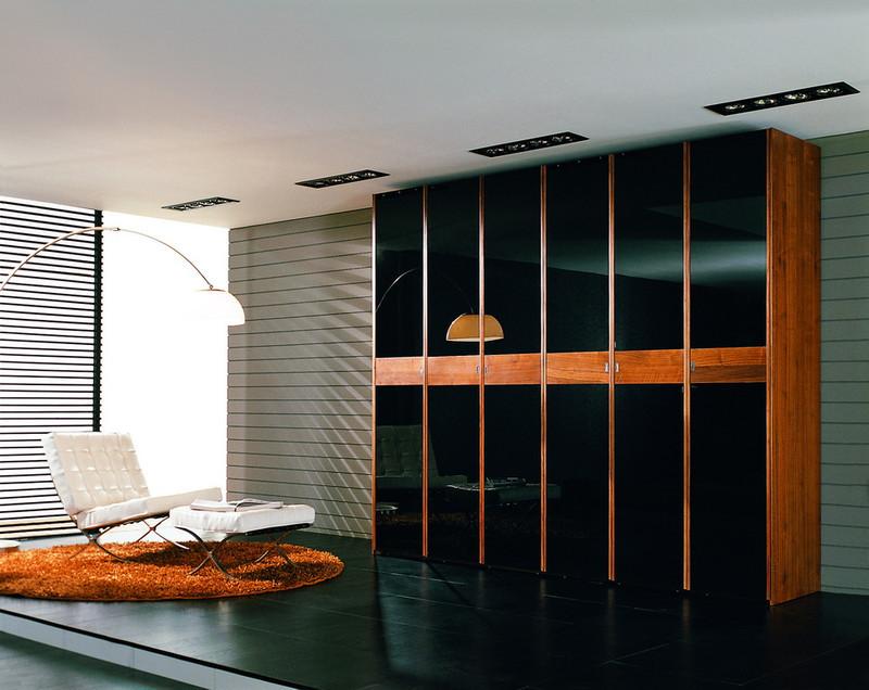 正品美迪家具 北欧宜家 亮光系列 胡桃木衣柜hf-0906-e; 北欧e家家具
