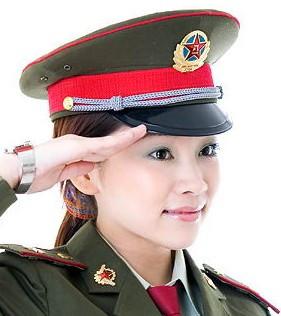 向军人敬礼!节日快乐!最可爱的人!