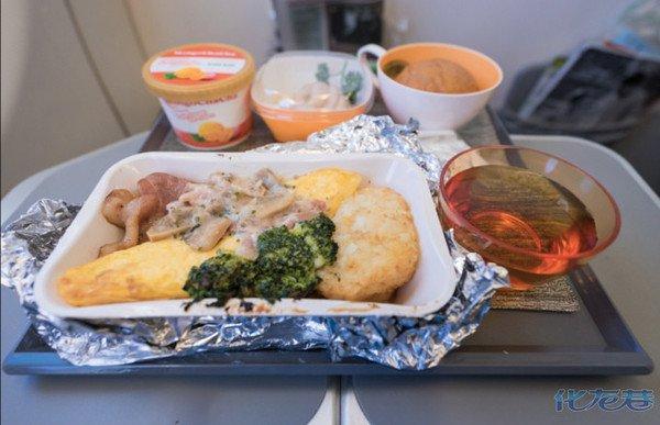 这样的飞机餐太棒