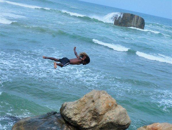斯里兰卡初次跳海