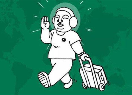 你开始佛系旅行了吗