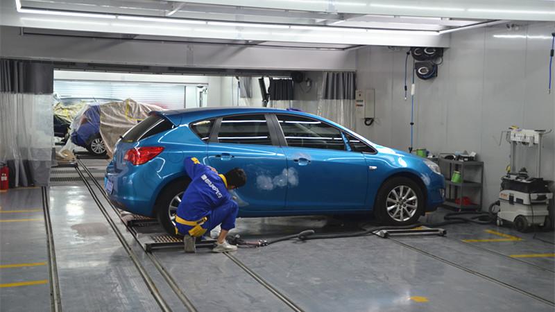 汽车补漆五折福利