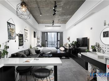 15W打造55㎡公寓