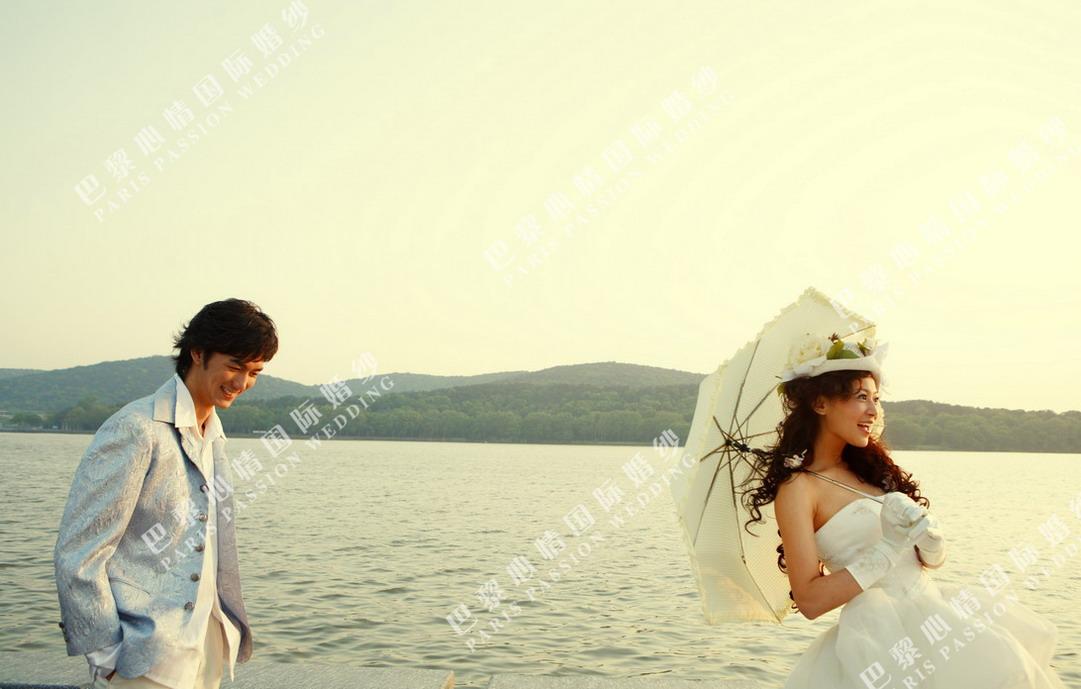 巴黎心情婚纱摄影与您分享:——千岛湖外景 【常州婚纱摄影/巴黎心情