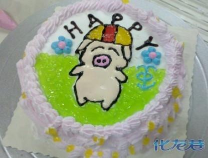 麦兜蛋糕图片大全可爱