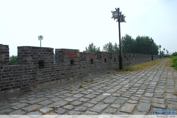 怀念我的家乡,安徽省六安市寿县,还有城墙围着的古城