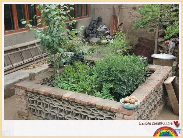 四合院家庭小花园设计分享展示