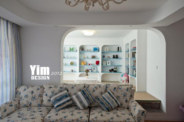 吟枫苑120平地中海风 - 一米家居 - 装修效果图