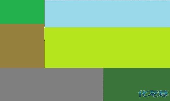 想画一幅色块组成的抽象画