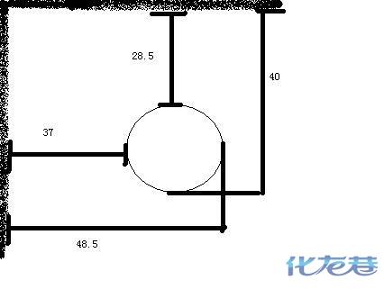 求助一下:关于马桶坑距和冰箱预留空间的问题