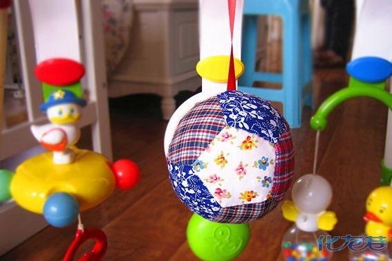 纯手工制作超软布球和幸福熊猫,再也不担心宝宝被玩具