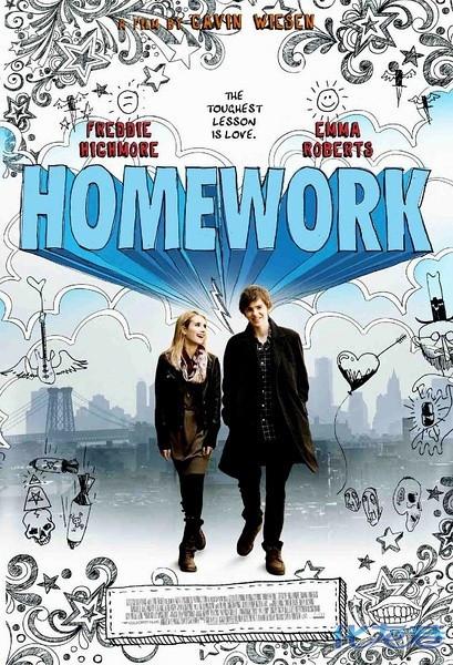 美国青春爱情电影《家庭作业》:两位90后领衔主演