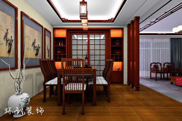 中式风格装修图  中式风格装修图(1/4) 风格:中式风格户型:大平层预算图片