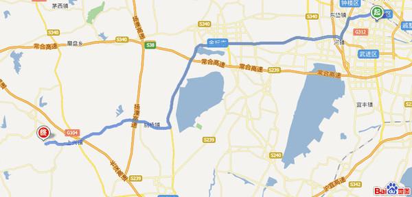 1,目的地就在溧阳曹山生态园,导航上可以选曹山紫竹林生态农业园.图片