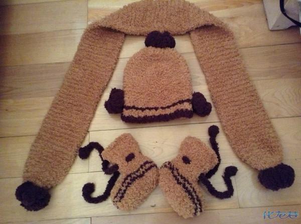 各位宝妈们,自己手工编织的宝宝鞋,帽子,围巾有喜欢的